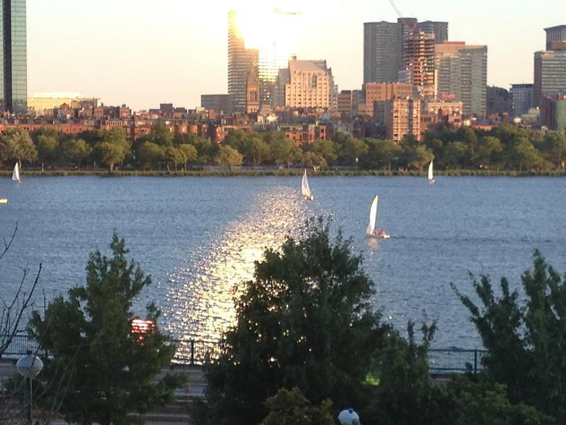 Boston Skyline from Cambridge side of Charles River