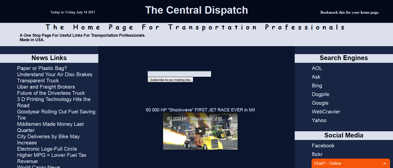 Transportation Links at The Central Dispatch